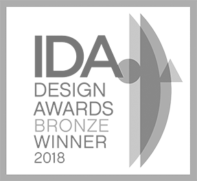 IDA Design Awards Bronze Winner 2018