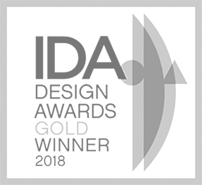 IDA Design Awards Gold Winner 2018