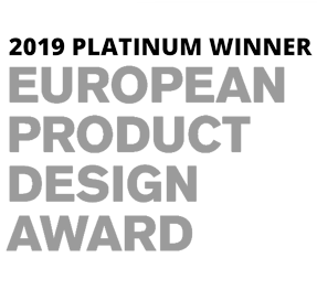 2019 Platinum Winner – European Product Design Award